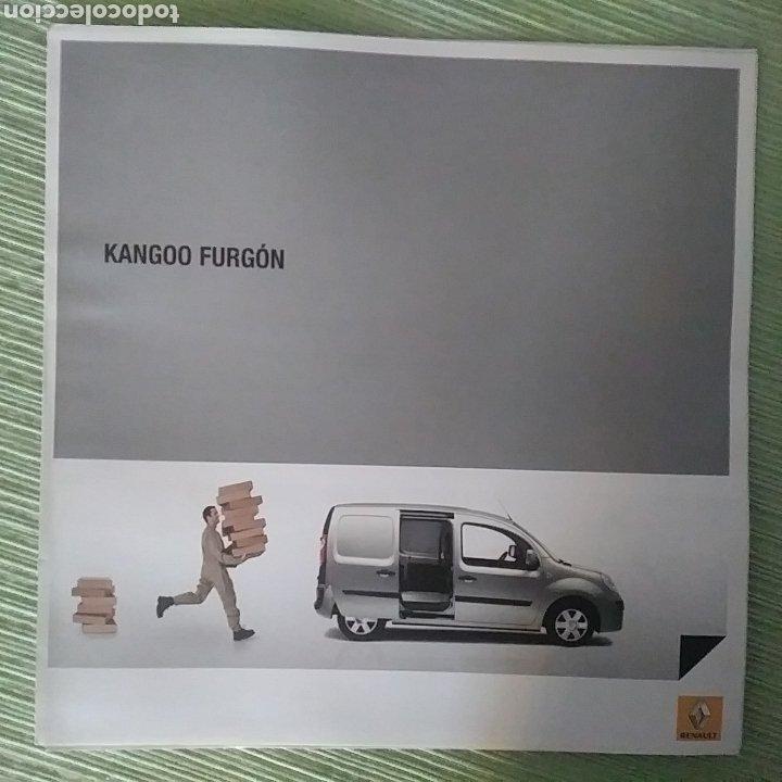 CATÁLOGO RENAULT KANGOO FURGÓN (Coches y Motocicletas Antiguas y Clásicas - Catálogos, Publicidad y Libros de mecánica)