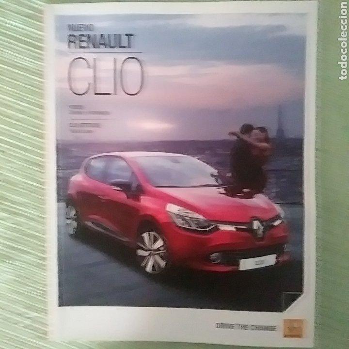 CATÁLOGO NUEVO RENAULT CLIO (Coches y Motocicletas Antiguas y Clásicas - Catálogos, Publicidad y Libros de mecánica)