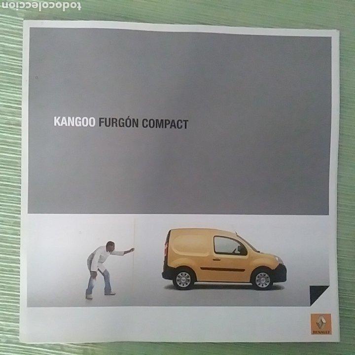 CATÁLOGO RENAULT KANGOO FURGÓN COMPACT (Coches y Motocicletas Antiguas y Clásicas - Catálogos, Publicidad y Libros de mecánica)