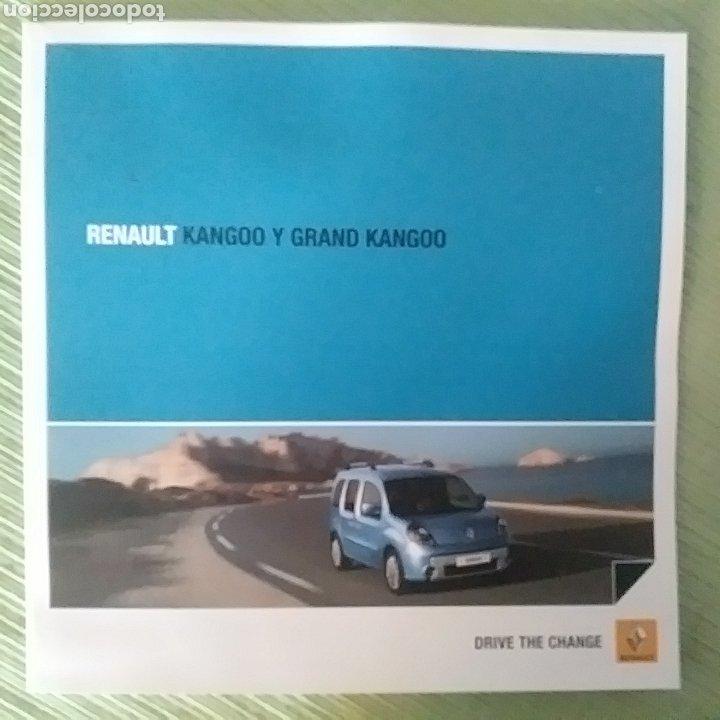 CATÁLOGO RENAULT KANGOO Y GRAND KANGOO (Coches y Motocicletas Antiguas y Clásicas - Catálogos, Publicidad y Libros de mecánica)