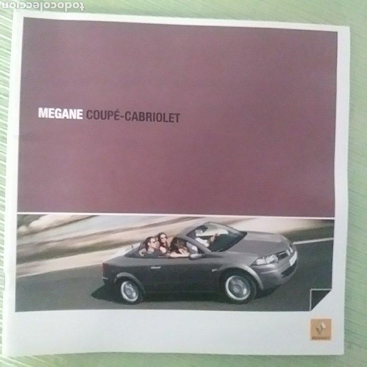 CATÁLOGO RENAULT MÉGANE COUPÉ - CABRIOLET CC (Coches y Motocicletas Antiguas y Clásicas - Catálogos, Publicidad y Libros de mecánica)