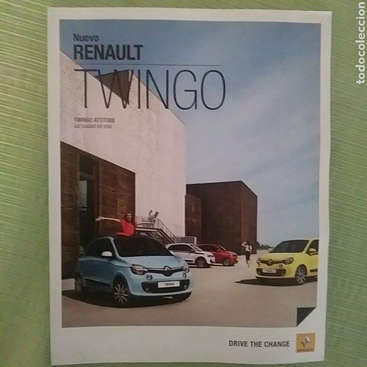 CATÁLOGO NUEVO RENAULT TWINGO (Coches y Motocicletas Antiguas y Clásicas - Catálogos, Publicidad y Libros de mecánica)