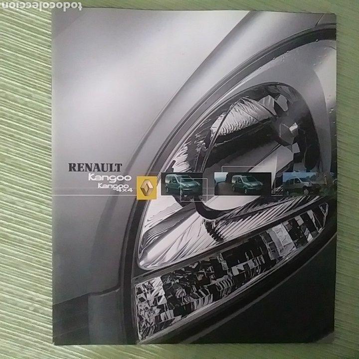 CATÁLOGO RENAULT KANGOO Y KANGOO 4X4 (Coches y Motocicletas Antiguas y Clásicas - Catálogos, Publicidad y Libros de mecánica)