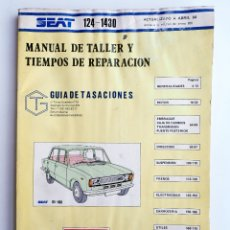 Voitures et Motocyclettes: MANUAL TALLER SEAT 124 - 1430. Lote 191101362