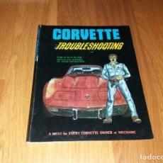 Coches y Motocicletas: LIBRO. CHEVROLET CORVETTE TROUBLESHOOTING, J M PUBLISHING 1979. Lote 191406168