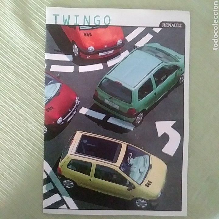 CATÁLOGO RENAULT TWINGO (Coches y Motocicletas Antiguas y Clásicas - Catálogos, Publicidad y Libros de mecánica)