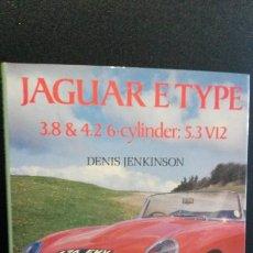 Coches y Motocicletas: JAGUAR ETYPE: 3.8 & 4.2 6-CYLINDER, 5.3 V12. DENIS JENKINSON. OSPREY AUTOHISTORY 1987.. Lote 191694831