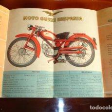 Voitures et Motocyclettes: MOTO GUZZI HISPANIA MODELO CARDELLINO 75. Lote 192119620