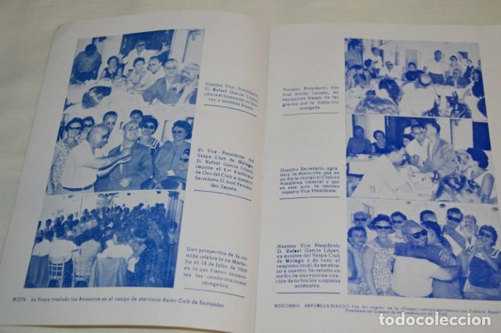 Coches y Motocicletas: VESPA Noviembre 1.959 - Vespa Club de España /MÁLAGA/ - Boletín Informativo - Núm. 3 - ¡Muy difícil! - Foto 3 - 192180545