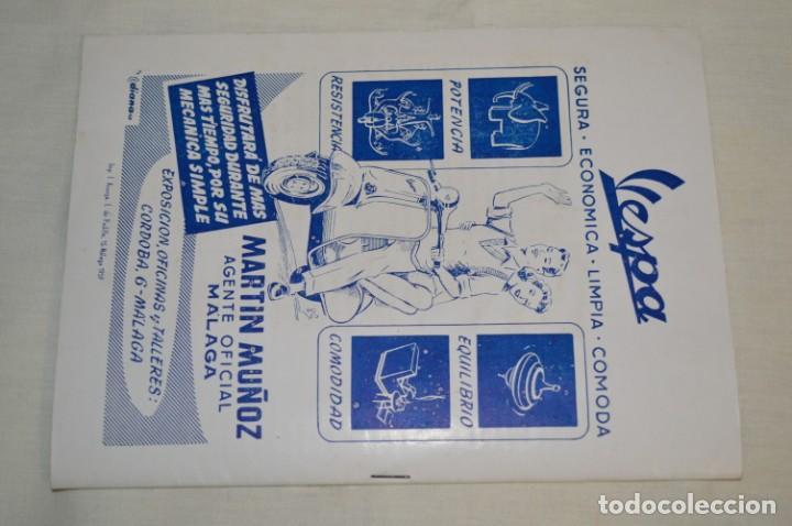 Coches y Motocicletas: VESPA Noviembre 1.959 - Vespa Club de España /MÁLAGA/ - Boletín Informativo - Núm. 3 - ¡Muy difícil! - Foto 4 - 192180545