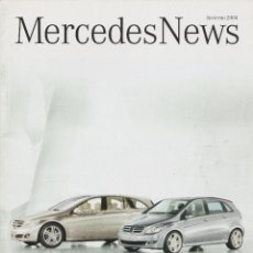 Coches y Motocicletas: REVISTA MERCEDES NEWS INVIERNO 2004. Lote 192507061