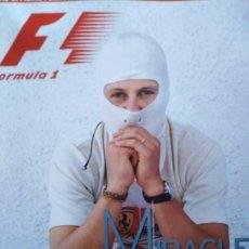 Coches y Motocicletas: THE OFFICIAL FORMULA 1 MAGAZINE 2003 SCHUMACHER . Lote 192563772