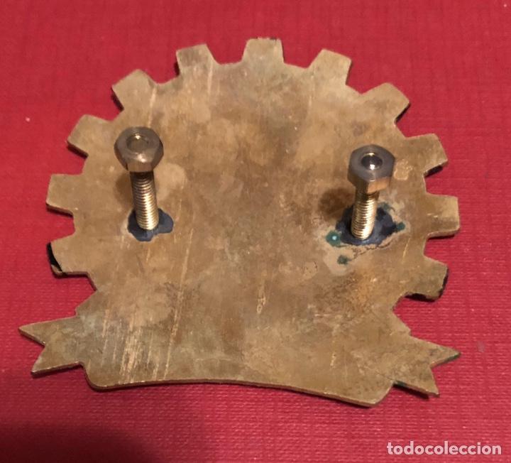 Coches y Motocicletas: Emblema- placa de publicidad de Moto Vespa Club de Italia - Foto 3 - 192828761