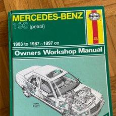Coches y Motocicletas: MERCEDES BENZ 190 OWNNERS WORKSHOP MANUAL LIBRO DE TALLER. Lote 192855528