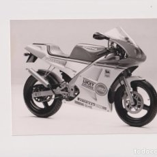 Voitures et Motocyclettes: CAGIVA PRIMA +-21CM X 15CM MOTO MOTOCROSS MOTORCYCLE DOUGLAS J JACKSON ARCHIVE OF MOTORCYCLES. Lote 192966251