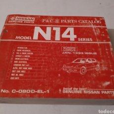 Coches y Motocicletas: NISSAN SUNNY N14. CATALOGO RECAMBIOS.. Lote 194175143