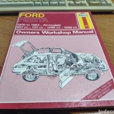 Coches y Motocicletas: FORD FIESTA 1976 1983 MANUAL DE TALLER USUARIO REPARACIÓN Y MANTENIMIENTO AUTOMOVILISMO EN INGLÉS. Lote 194198872