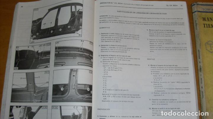 Coches y Motocicletas: MANUAL TALLER GUÍA TASACIONES CITROEN GSA TOMO 1 Y TOMO 2 1981 REPARACIÓN AUTOMÓVIL COCHE - - Foto 4 - 194281100