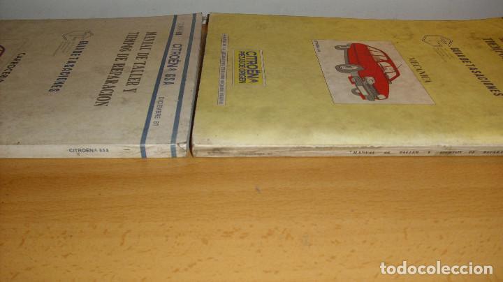 Coches y Motocicletas: MANUAL TALLER GUÍA TASACIONES CITROEN GSA TOMO 1 Y TOMO 2 1981 REPARACIÓN AUTOMÓVIL COCHE - - Foto 7 - 194281100