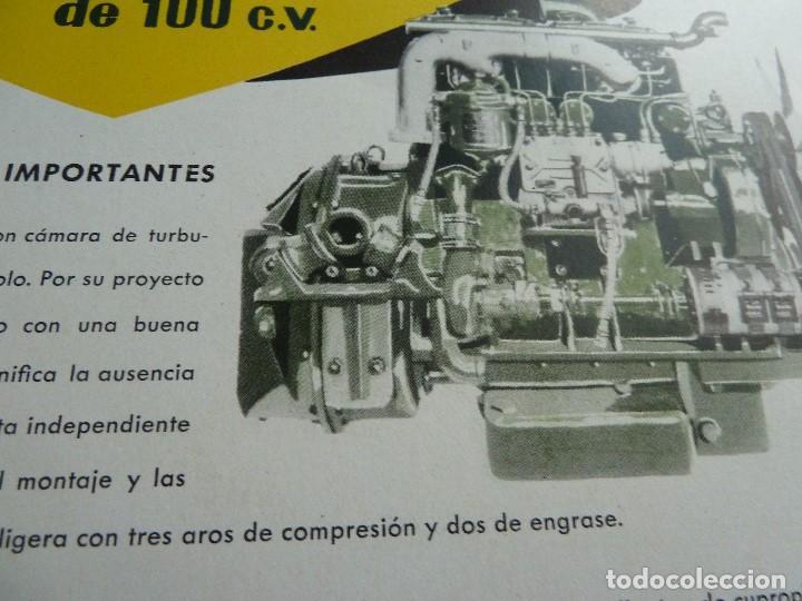 Coches y Motocicletas: BARREIROS-CATALOGO/FOLLETO ORIGINAL MOTORES- BARREIROS EB100 DIESEL - Foto 4 - 194289662