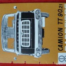 Coches y Motocicletas: BARREIROS-ANTIGUO CATALOGO/FOLLETO ORIGINAL CAMION- BARREIROS·TT 90.21-. Lote 194291283