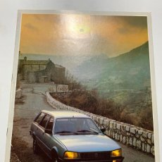 Coches y Motocicletas: CATALOGO FOLLETO PUBLICIDAD ORIGINAL PEUGEOT 505 BREAK Y FAMILIAR DE 1983. Lote 194319173