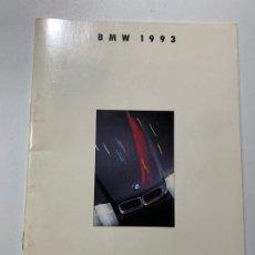 Coches y Motocicletas: CATALOGO FOLLETO PUBLICIDAD DE 1993 BMW SERIE 3 5 7 750I 8 M3 M5. Lote 194321120