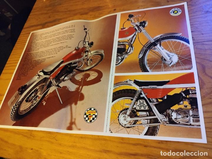 Coches y Motocicletas: Díptico Bultaco Sherpa T. - Foto 2 - 194334992
