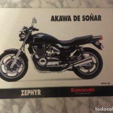 Coches y Motocicletas: FOLLETO KAWASAKI ZEPHYR. Lote 194515595