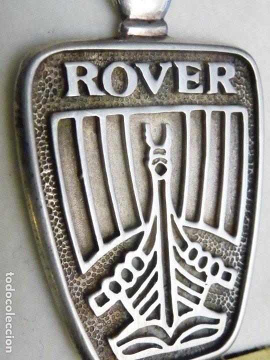 Coches y Motocicletas: ROVER, LLAVERO EN ESTUCHE, DE PLATA 925 - PUNZONADO LEY - Foto 5 - 194515990