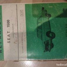 Coches y Motocicletas: REPARAUTO SEAT 1500. Lote 194530150