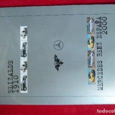Coches y Motocicletas: REVISTA-ELIZALDE 1910·MERCEDES BENZ ESPAÑA 2000-ELIZALDE/MEVOSA·DKW VITORIA/ENMASA. Lote 194590073