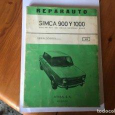 Coches y Motocicletas: LIBRO REPARAUTO Nº111 SIMCA 900-1000-. Lote 194600330