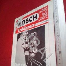 Coches y Motocicletas: TUBAL BOSCH INFORMA REVISTA 15 FIAT 127 DIESEL U6. Lote 194609282