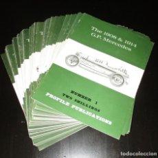 Coches y Motocicletas: PROFILE PUBLICATIONS. LOTE DE 52 NÚMEROS ORIGINALES DEL MÍTICO MAGAZINE INGLÉS DEL AUTOMÓVIL.. Lote 194635771