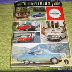 Coches y Motocicletas: AUTO UNIVERSUM - 1966. Lote 194862796