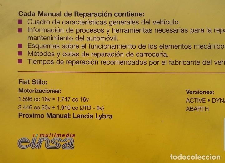 Coches y Motocicletas: Manual de Reparación Fiat Stilo - Foto 2 - 194899117