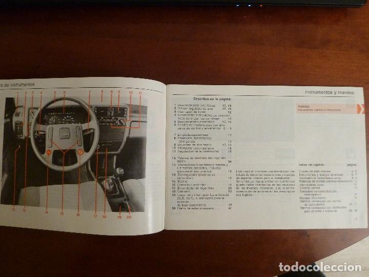 Coches y Motocicletas: MANUAL/LIBRO DE INSTRUCCIONES AUTOMOVIL-VOLVO 340/360- AÑO 1986 - Foto 4 - 194906338