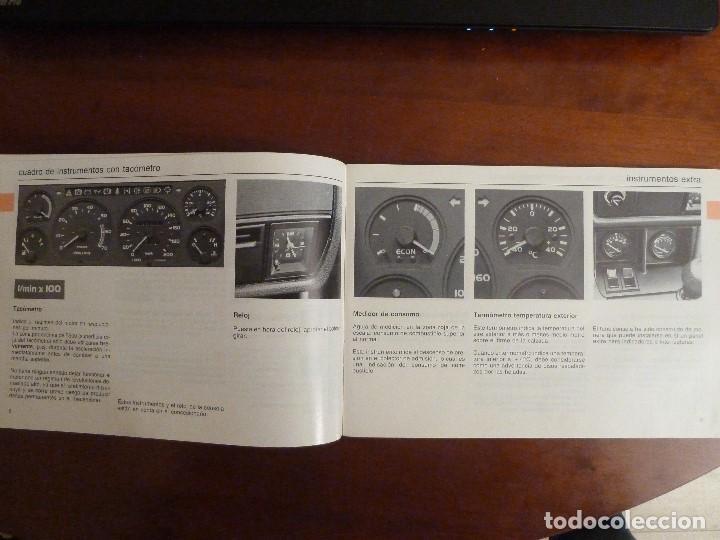 Coches y Motocicletas: MANUAL/LIBRO DE INSTRUCCIONES AUTOMOVIL-VOLVO 340/360- AÑO 1986 - Foto 5 - 194906338