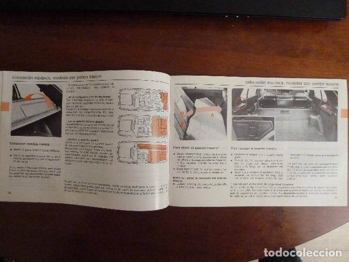 Coches y Motocicletas: MANUAL/LIBRO DE INSTRUCCIONES AUTOMOVIL-VOLVO 340/360- AÑO 1986 - Foto 6 - 194906338