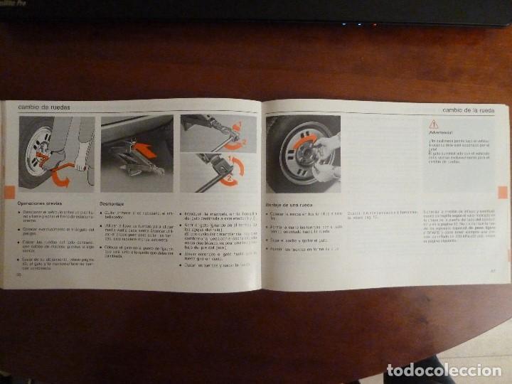 Coches y Motocicletas: MANUAL/LIBRO DE INSTRUCCIONES AUTOMOVIL-VOLVO 340/360- AÑO 1986 - Foto 7 - 194906338