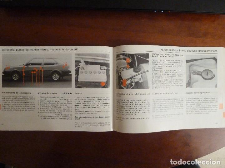 Coches y Motocicletas: MANUAL/LIBRO DE INSTRUCCIONES AUTOMOVIL-VOLVO 340/360- AÑO 1986 - Foto 9 - 194906338