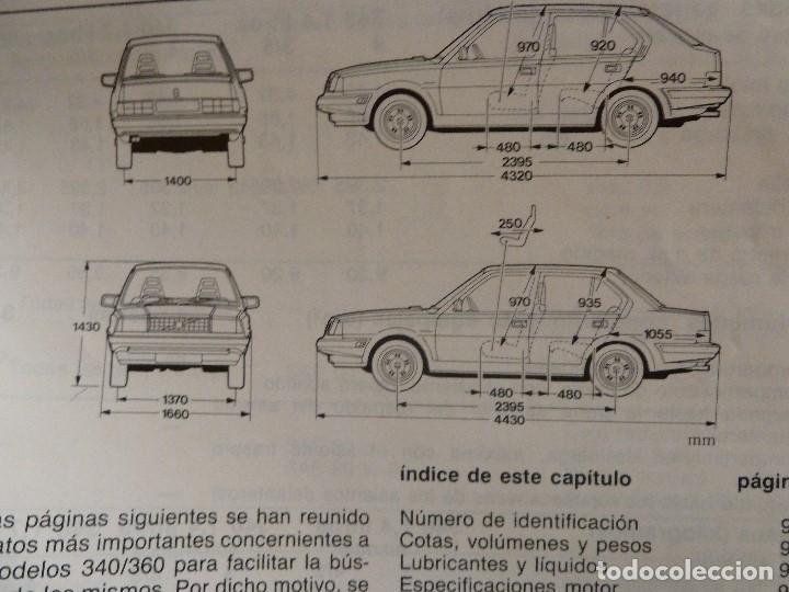 Coches y Motocicletas: MANUAL/LIBRO DE INSTRUCCIONES AUTOMOVIL-VOLVO 340/360- AÑO 1986 - Foto 10 - 194906338