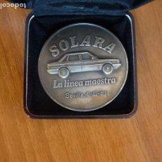 Coches y Motocicletas: MEDALLA TALBOT SOLARA LA LÍNEA MAESTRA SEVILLA 1981. Lote 195013767