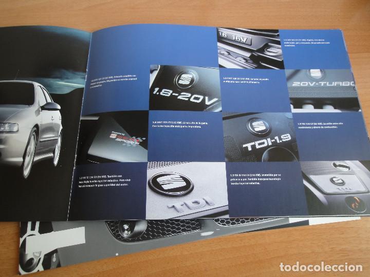 Coches y Motocicletas: Catálogos SEAT LEON (2004) - Foto 3 - 195029712