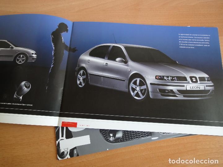 Coches y Motocicletas: Catálogos SEAT LEON (2004) - Foto 4 - 195029712