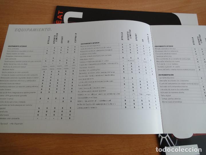 Coches y Motocicletas: Catálogos SEAT LEON (2004) - Foto 6 - 195029712