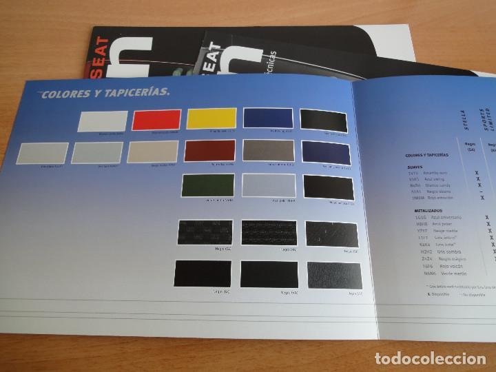 Coches y Motocicletas: Catálogos SEAT LEON (2004) - Foto 7 - 195029712
