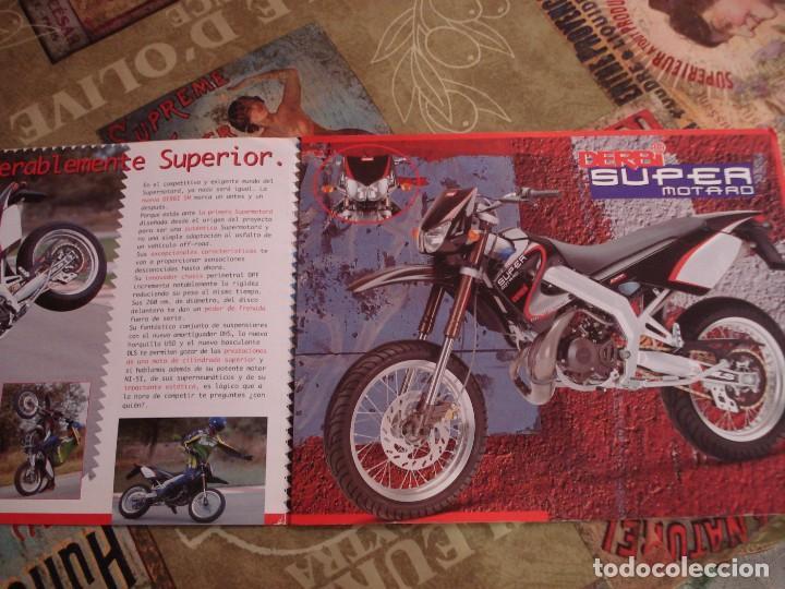 Coches y Motocicletas: DOS FOLLETOS DE PROPAGANDA DERBI - Foto 3 - 195042512