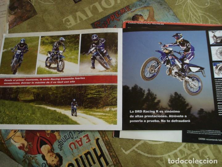 Coches y Motocicletas: DOS FOLLETOS DE PROPAGANDA DERBI - Foto 5 - 195042512